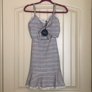 Cut out mini dress size small! Never worn NWT
